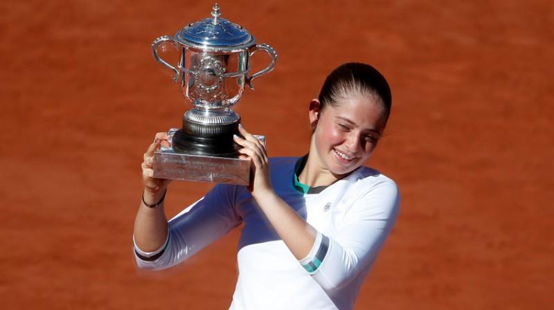 Aļona Ostapenko Foto: Reuters/Scanpix