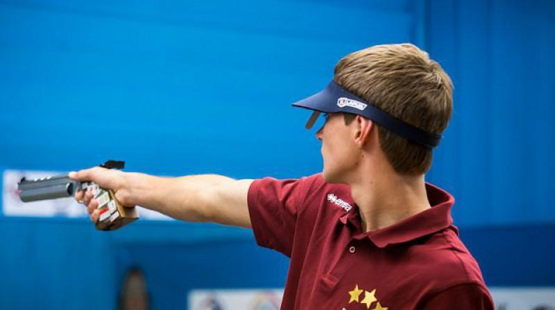 Lauris Strautmanis. Foto: ISSF - Olympic Shooting