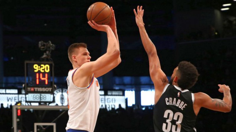 Kristaps Porziņģis pret Bruklinu