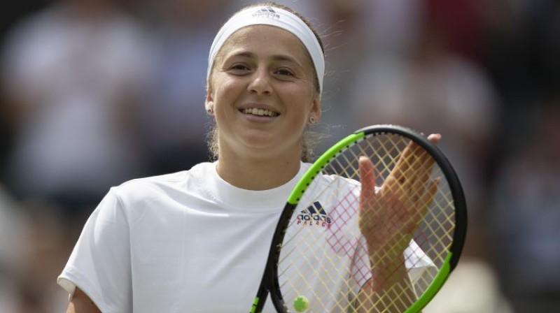 Aļona Ostapenko Foto: Susan Mullane-USA TODAY Sports/S/Scanpix
