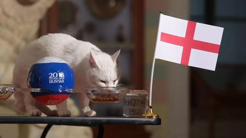 Ahils paēda arī pie Anglijas karoga Foto: Oļegs Zoloto, kompravda.eu