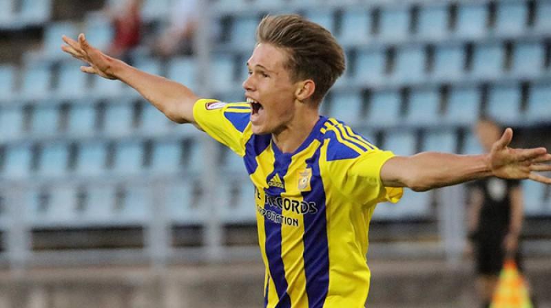 Raens Tālbergs. Foto: FK Ventspils