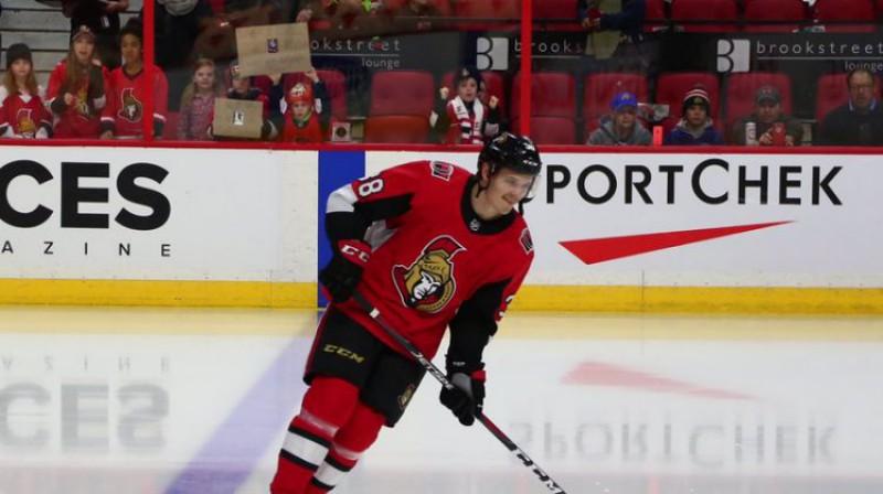 Rūdolfs Balcers. Foto: Ottawa Senators