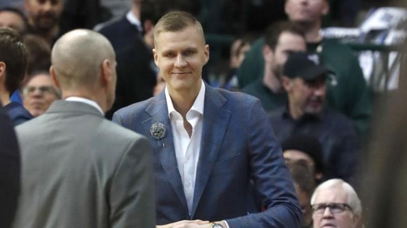 Kristaps Porziņģis. Foto: AP/Scanpix