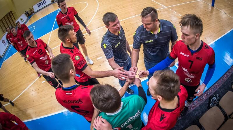 """Durvis šā gada čempionātā Laura Iecelnieka vadītajai komandai izdevās aizcirst ar uzvaru Foto: OC """"Limbaži""""/MSĢ"""