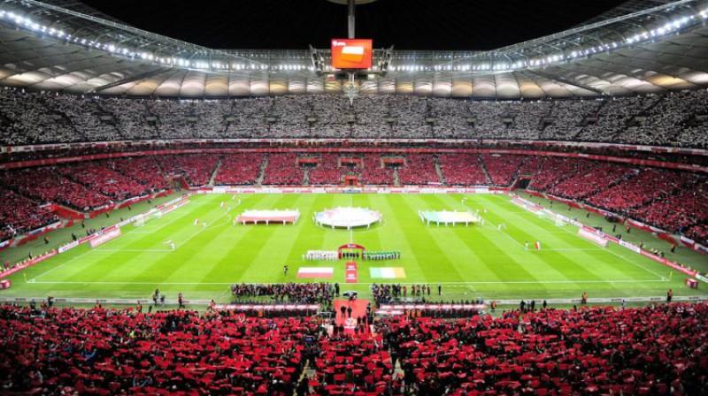 Varšavas Nacionālais stadions. Foto: Norbert Barczyk / Pressfocus