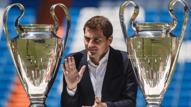 Ikers Kasiljass. Foto: Reuters/Scanpix