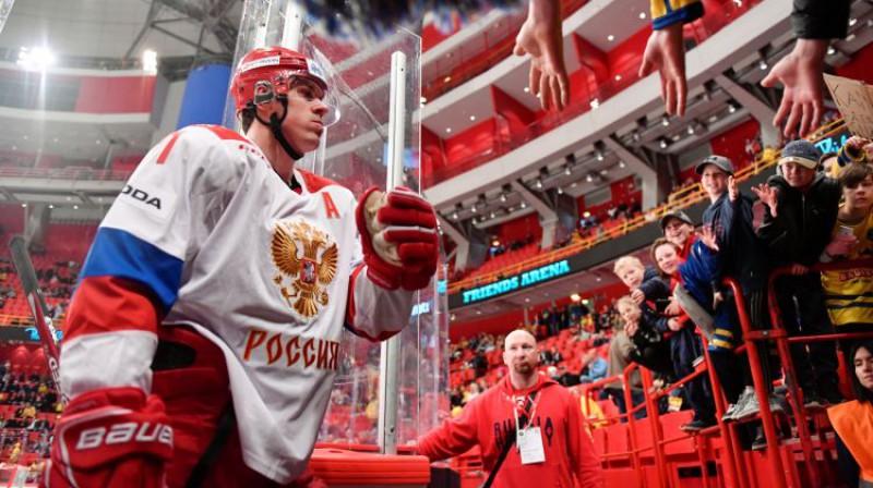 Jevgeņijs Malkins. Foto: Reuters/Scanpix