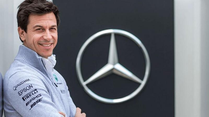 Toto Volfs. Foto: Mercedes F1