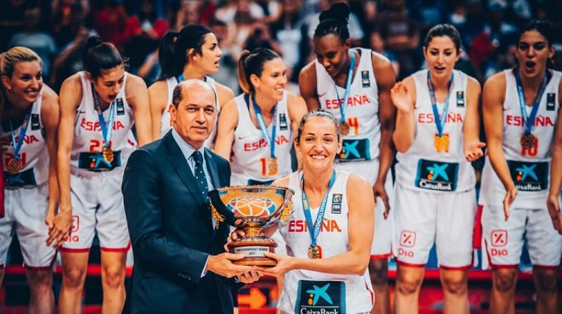 Laja Palau vēlas devīto reizi spēlēt Eiropas čempionāta finālturnīrā. Foto: FIBA