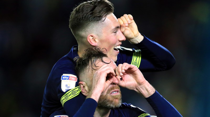 """Derby County"" svin uzvaru. Foto: PA Wire/PA Images/Scanpix"