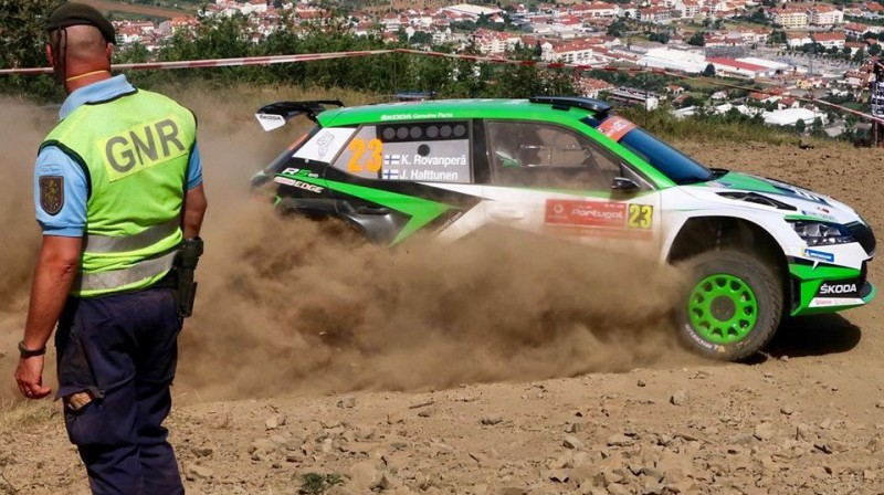 Kalle Rovanpera. Foto: Škoda Motorsport