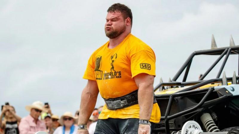 Mārtiņš Līcis. Foto: World's Strongest Man