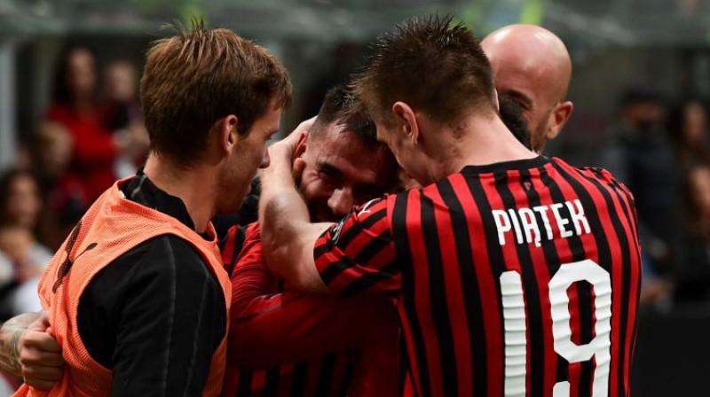 """Milan"" futbolisti. Foto: AFP/Scanpix"
