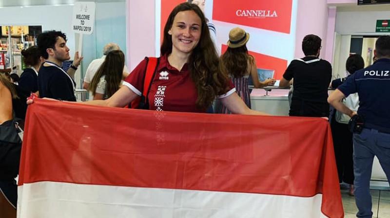 Alise Vējone. Foto: Latvijas Augstskolu sporta savienība