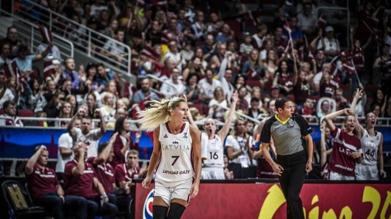 Elīna Dikeulaku. Foto: FIBA