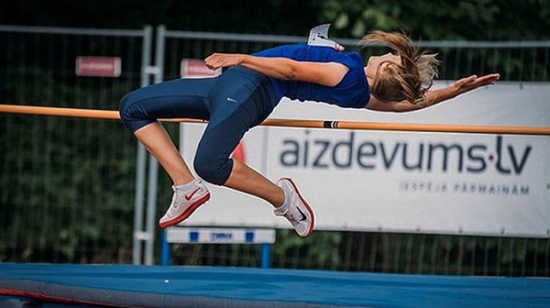 Amanda Savicka. Foto: No sportistes personīgā Instagram profila