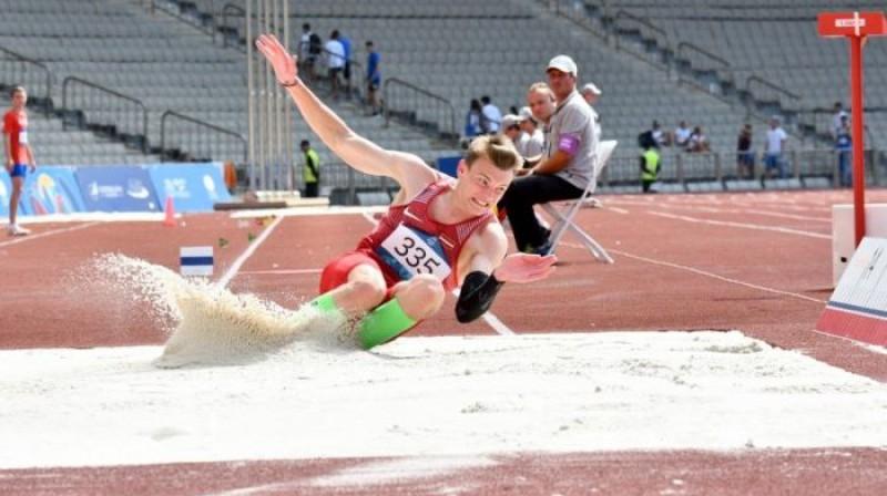 Edvīns Hedakovs. Foto: olimpiade.lv