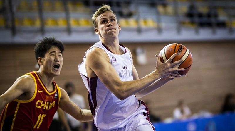 Valters Vēveris. Foto: FIBA