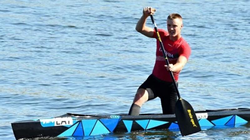 Roberts Lagzdiņš. Foto: Mārtiņš Mālmeisters, olimpiade.lv