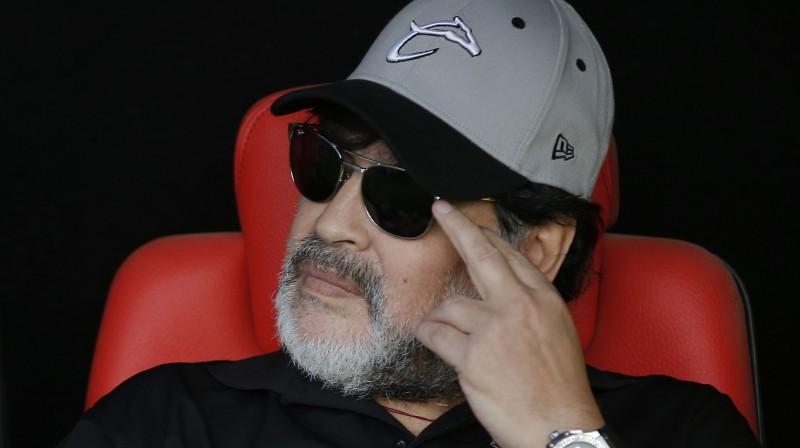 Djego Maradona. Foto: AP/Scanpix