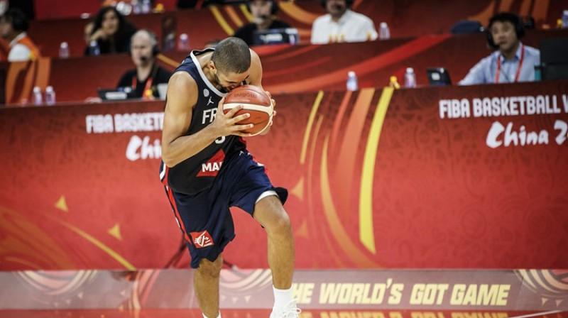 Nikolā Batums: uzvara pār ASV, Pasaules kausa pusfināls un ceļazīme uz Tokiju. Foto: FIBA
