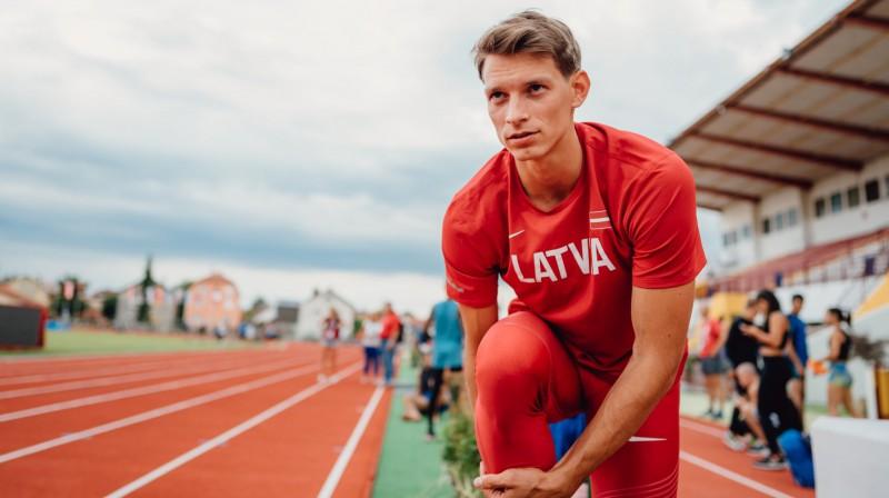Kristaps Sietiņš. Foto: Latvijas Vieglatlētikas savienība