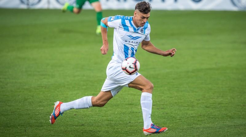 Miroslavs Slavovs. Foto: Zigismunds Zālmanis (Riga FC)