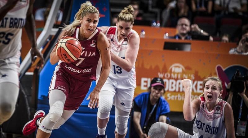 Elīna Dikeulaku: pirmā uzvara Turcijas līgā. Foto: FIBA