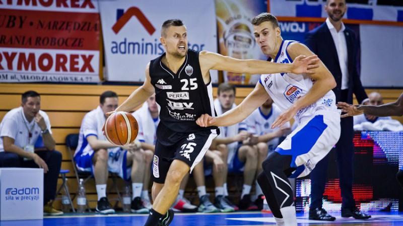 """Mārtiņš Laksa un Ļubļinas """"Start"""": 3-0 Polijā. Foto: plk.pl"""