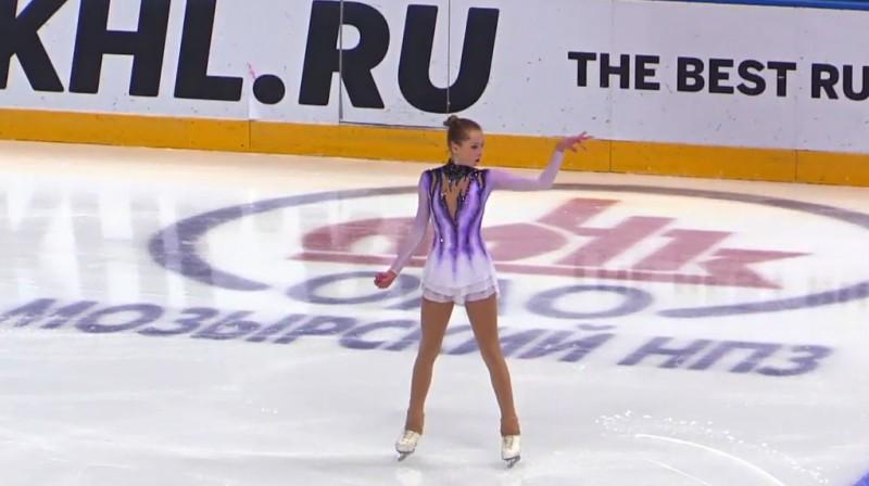 Anete Lāce. Foto: Figure Skating Belarus