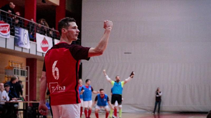 Eduards Martins. Foto: A. Pupurāns (FC Petrow)