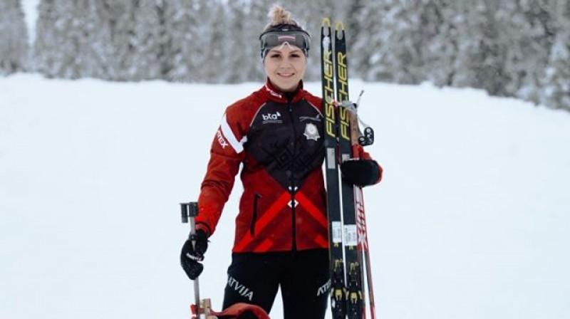 Ieva Pūce. Foto: Latvijas Biatlona federācija