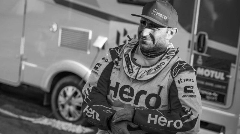 Paulu Gonsālvešs. Foto: Dakar Rally