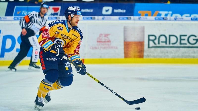 Ralfs Freibergs. Foto: David Peška/hokej.zlin.cz