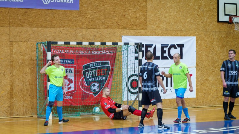"""Jēkabpils Lūši""/""Ošukalns"" gūst vārtus pret ""Tukums 2000""/TSS. Foto: Sporta klubs ""Jēkabpils Lūši"""
