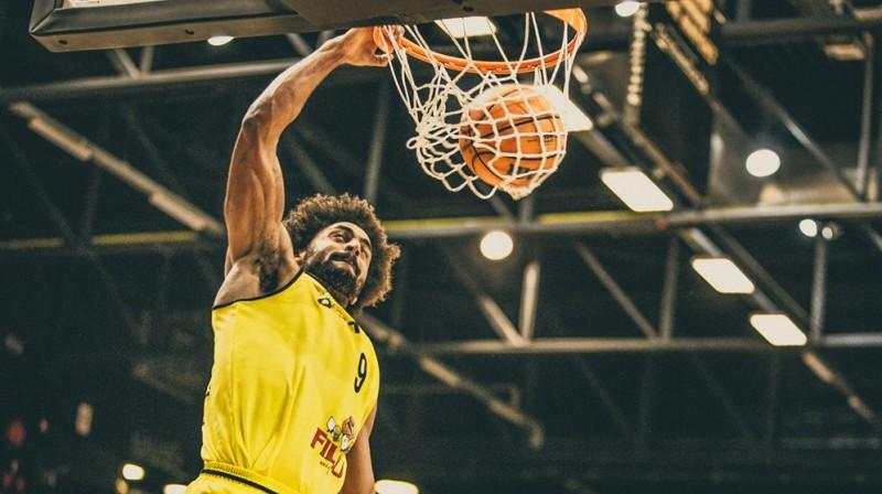 """""""Oostende"""" spēlētājs Žans Marks Mvemā. Foto: FIBA"""