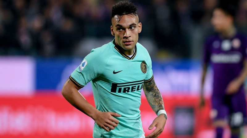 Lautaro Martiness. Foto: Maffia/UK Sports Pics/SIPA/Scanpix