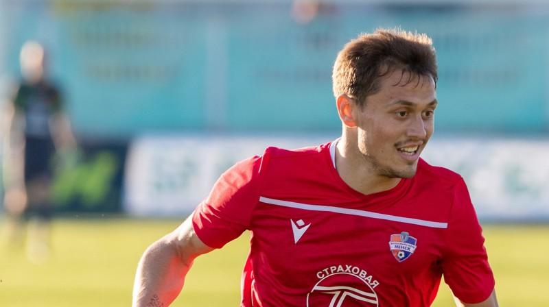Jaroslavs Jarockis. Foto: Minsk FC