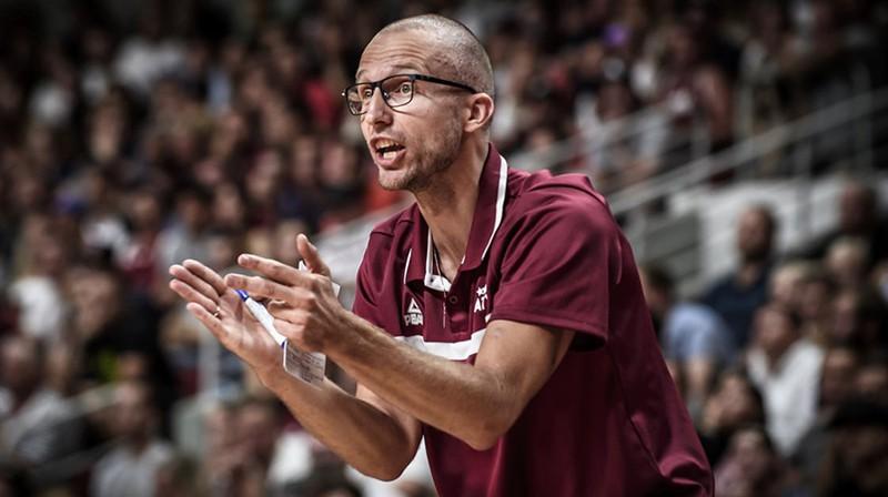 Artūrs Visockis-Rubenis. Foto: FIBA