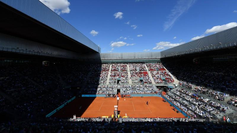 """Madrides turnīra mājvieta """"La Caja Mágica"""". Foto: imago/Scanpix"""