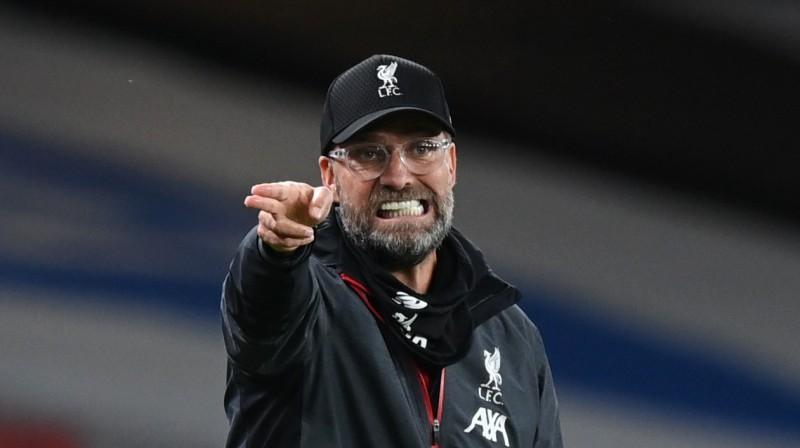 """""""Liverpool"""" galvenais treneris Jirgens Klops. Foto: Reuters/Scanpix"""
