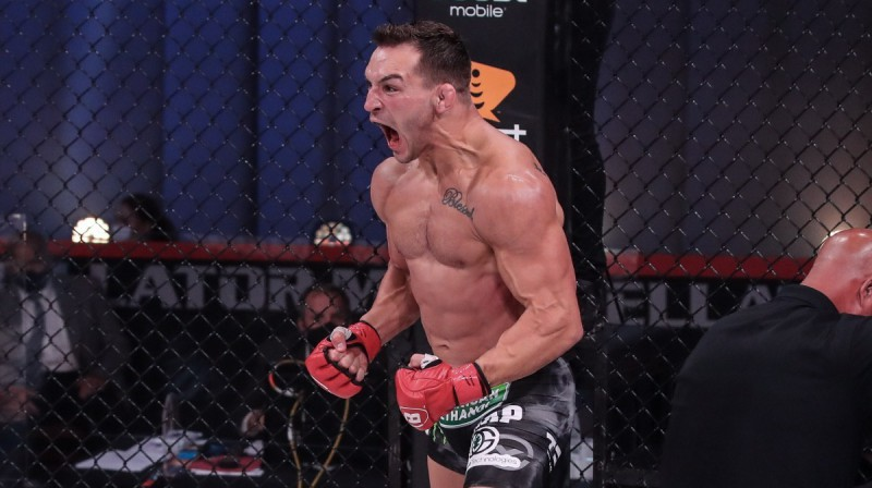 Maikls Čendlers. Foto: Bellator MMA