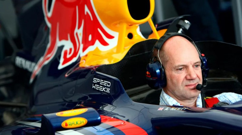 Adrians Ņūvijs. Foto: Red Bull