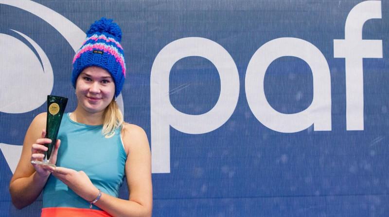 Kamilla Bartone. Foto: tennis.ee