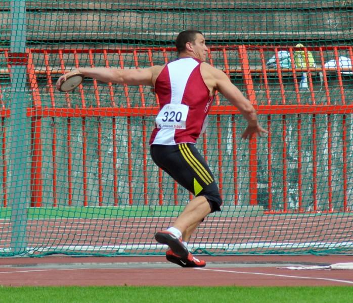 Diska metējam Vaisjunam 25.vieta Eiropas čempionātā