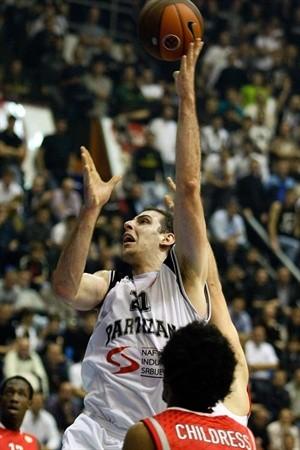 """""""Partizan"""" spēlētājs - Eirolīgas nedēļas MVP"""