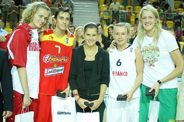Torrensa – 2009. gada labākā jaunā basketboliste Eiropā (papildināts)