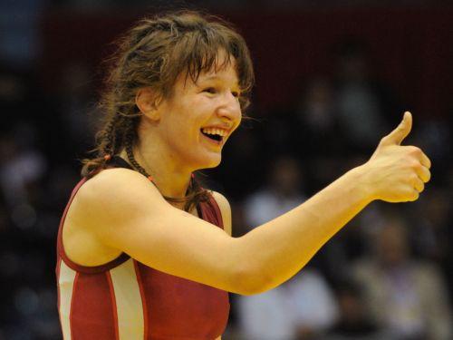 Cīkstone Grigorjeva – Eiropas čempione