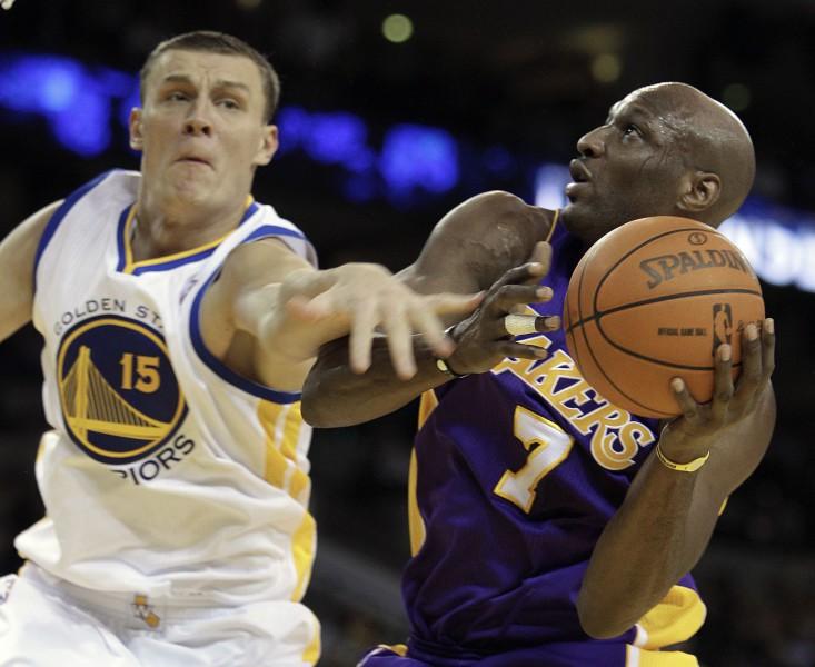 Odoms - labākais rezervists NBA